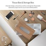 Orico Tissue box holder wood look - Copy