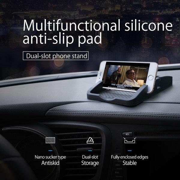 Orico Anti slip matje voor in de auto met telefoonhouder