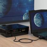 Orico DisplayPort zu DisplayPort Kabel 3 Meter - Schwarz - Copy