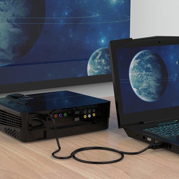 Orico DisplayPort to DisplayPort cable 3 meter - Black - Copy - Copy