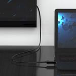 Orico DisplayPort zu HDMI-Kabel 2 Meter - schwarz