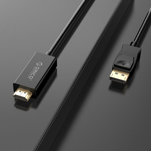 Orico DisplayPort naar HDMI kabel 2 meter - zwart
