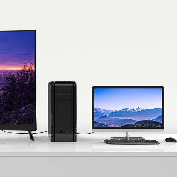 Orico DVI male 24 + 1 to VGA male cable 1 meter
