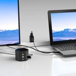 Orico Orico HDMI-zu-VGA-Kabel mit Audio-Unterstützung - 1920 x 1080 bei 60 Hz - 1 MB