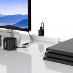Orico Câble HDMI vers VGA Orico avec prise en charge audio - 1920 x 1080 à 60 Hz - 3M
