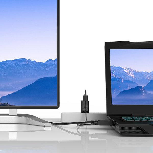 Orico Orico VGA-zu-HDMI-Kabel mit Audio-Unterstützung - 1920 x 1080 bei 60 Hz - 3 MB