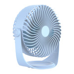 Orico Draadloze USB ventilator - 3 standen - 2000mAh - Lichtblauw