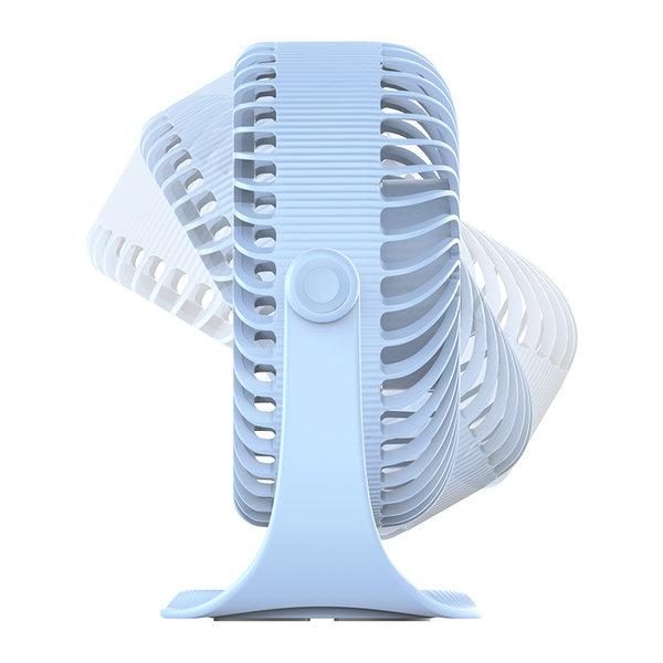 Orico Drahtloser USB-Lüfter - 3 Positionen - 2000mAh - Hellblau