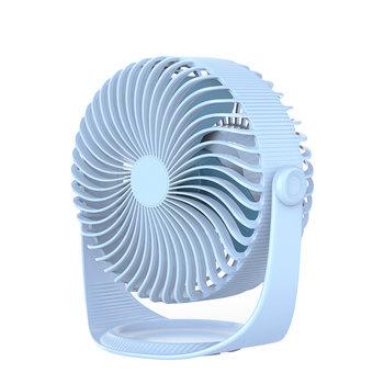Orico Draadloze USB ventilator verticaal stelbaar - Lichtblauw