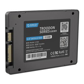 Orico SSD interne 2,5 pouces - 512 Go - Flash NAND 3D