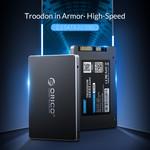 Orico 2.5 inch interne SSD 1TB  - Troodon serie - 3D NAND flash - Sky grey