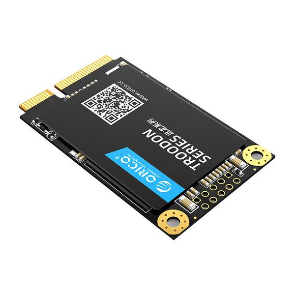 Orico mSATA interne SSD 128GB  - Troodon serie - 3D NAND flash - Zwart