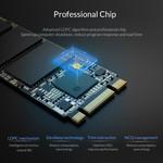 Orico M.2 interne SSD 2280 - 128 GB - Troodon-Serie - 3D-NAND-Blitz - Schwarz