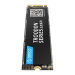 Orico M.2 interne SSD 2280 - 256 GB - Troodon-Serie - 3D-NAND-Blitz - Schwarz
