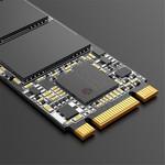 Orico M.2 interne SSD 2280 - 512 GB - Troodon-Serie - 3D-NAND-Blitz - Schwarz