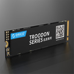 Orico M.2 NVMe interne SSD 2280 - 256GB - Troodon serie - 3D NAND flash - Zwart
