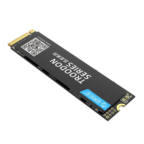 Orico M.2 NVMe interne SSD 2280 - 512 GB - Troodon-Serie - 3D-NAND-Blitz - Schwarz