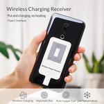 Orico Chargeur / récepteur de charge sans fil USB-C Qi - Conception ultra-mince - Puce IC allemande - blanc