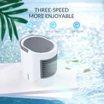 Tragbarer wassergekühlter USB-Tischventilator