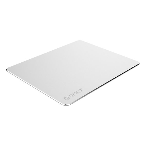 Ultradünnes XXL-Aluminium-Mauspad - 2 mm dick - 30 x 25 cm - Silber