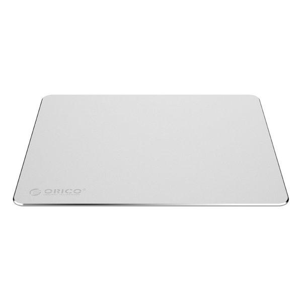 Tapis de souris ultrafin en aluminium XXL - 2 mm d'épaisseur - 30x25 cm - argent