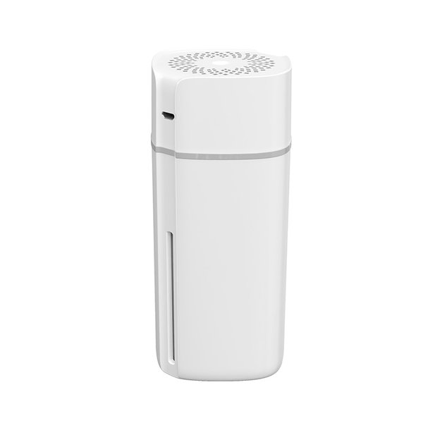 Humidifier suitable for in the car - dual mode - LED lighting - white