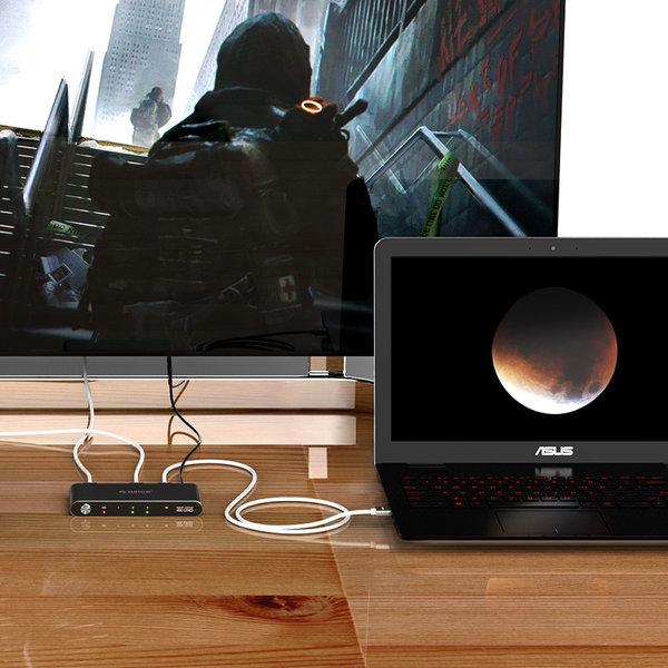 Orico HDMI adapter - 4K @60Hz switch - 3x HDMI input - 1x HDMI output