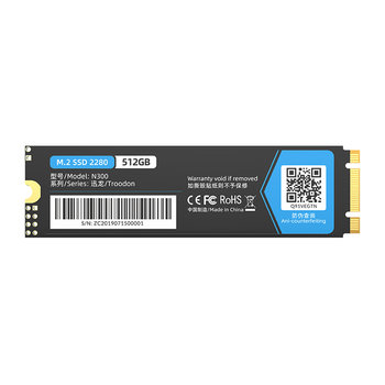Orico M.2 interne SSD - 2280 - 512 GB - 3D NAND Flash