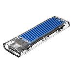 NVMe M.2 SSD / M.2 SSD-Gehäuse mit zwei Protokollen 10 Gbit / s - Blau