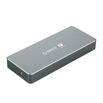 Boîtier SSD Thunderbolt 3 ™ NVMe M.2 - 40 Gbit / s - Gris ciel