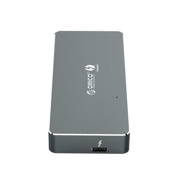 Boîtier SSD Thunderbolt 3 ™ NVME M.2 - 40 Gbit / s - USB-C - Gris ciel