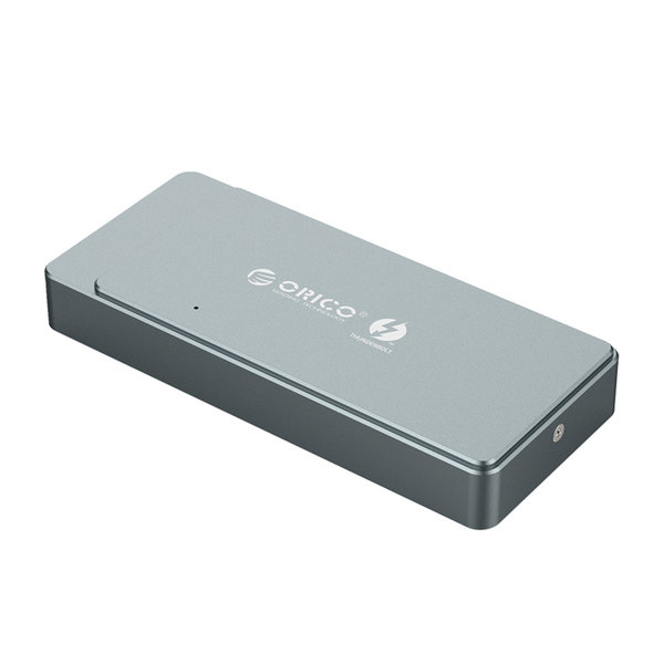 Boîtier SSD Thunderbolt 3 ™ NVME M.2 - USB-C - 40 Gbit / s - Gris ciel