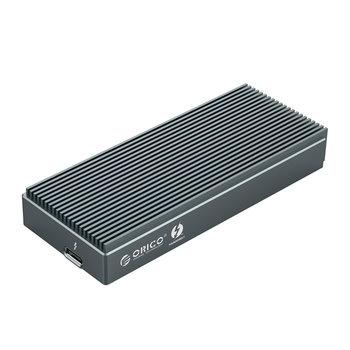 Thunderbolt ™ 3 NVMe M.2 SSD Aluminum Enclosure - 40Gbps - Sky Gray