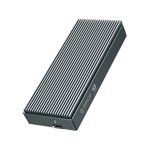 Thunderbolt ™ 3 NVMe M.2 SSD-Aluminiumgehäuse - 40 Gbit / s - Einzigartiges Design - Himmelgrau