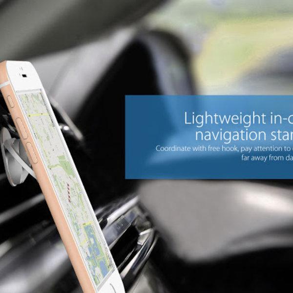 Orico Telefoon houder - Ring - Standaard voor smartphone of tablet - Zilver