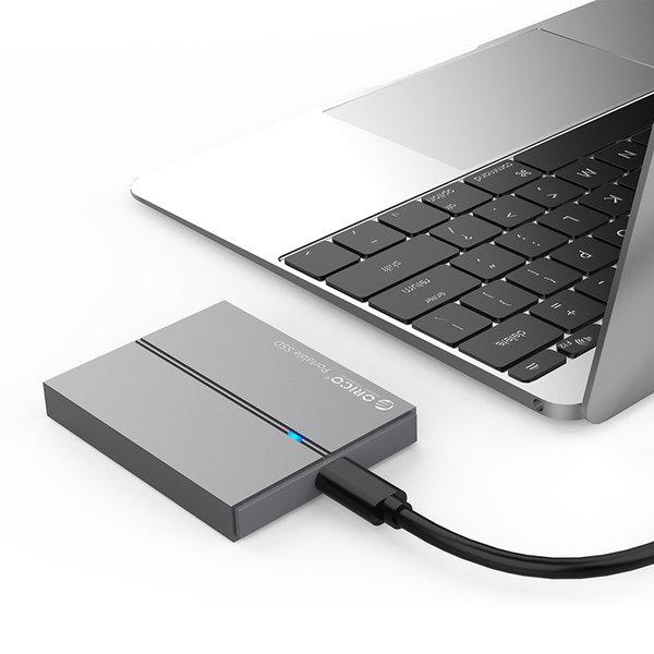 tragbare Hochgeschwindigkeits-SSD - NAND-Blitz - 128 GB - Himmelgrau