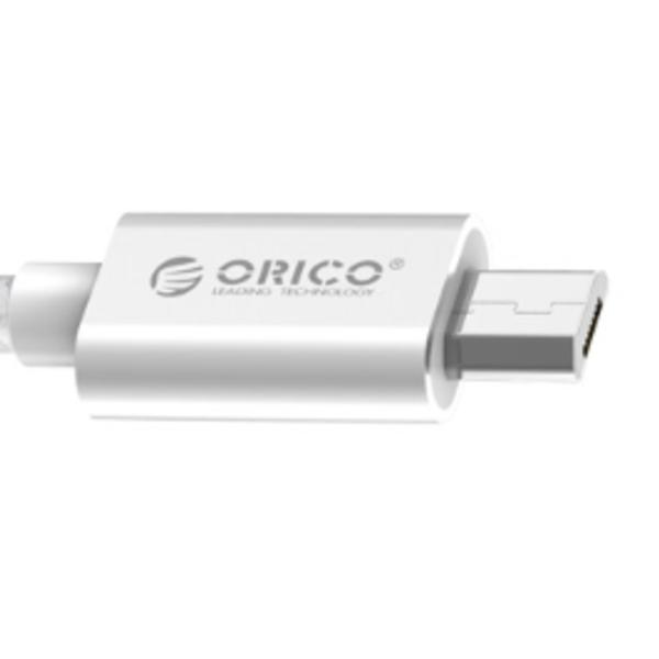Micro-USB-Lade- und Datenkabel für Smartphone und Tablet - 3A - Silber - 1M