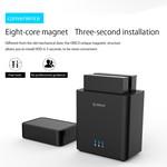 3.5 inch dual bay hard disk enclosure - USB 3.0 - magnetic