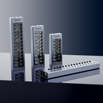 USB 3.0 Hub mit 7 Anschlüssen - Aluminium und transparentes Design - BC 1.2 - grau