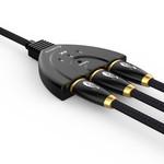 Orico HDMI 1.4-Schalter - 1 bis 3 Geräte - 4K bei 60 Hz
