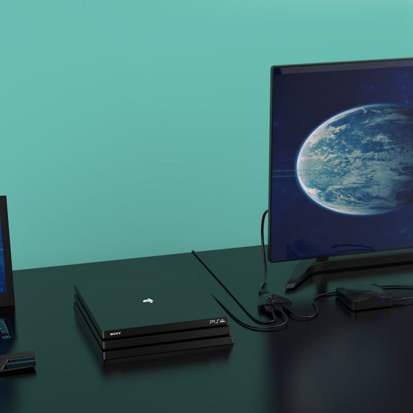 Orico HDMI 2.0-Schalter - 1 bis 3 Geräte - 4K bei 60 Hz