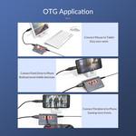 Aluminum USB 3.1 Gen 2 Hub - 4 Ports - 10Gbps High Speed
