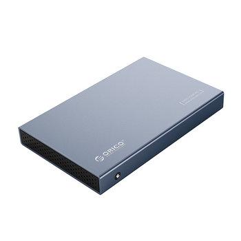 Boîtier de disque dur USB-C 2,5 pouces - USB 3.1 10 Gbit/s - Aluminium - Gris