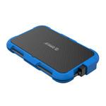 2,5-Zoll-Festplattengehäuse - dreifacher Schutz - blau
