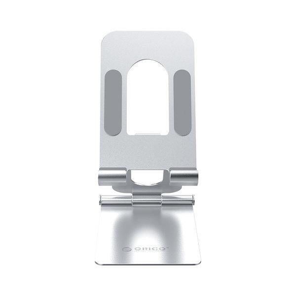 Telefoonhouder - opvouwbare telefoonstandaard - zilver