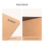 Duurzame kurken muismat - 30x60cm - tweezijdig te gebruiken