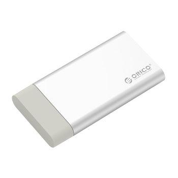 Aluminum mSATA housing - USB 3.0 - silver