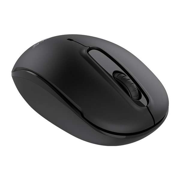 Silent Click Wireless Mouse - 2.4Ghz - 2Mbps - Black