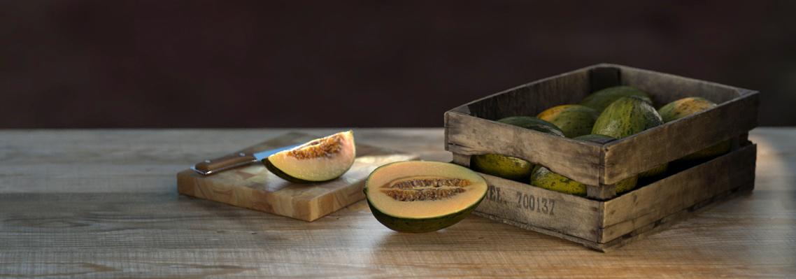 Melon-piel-de-Sapo-render