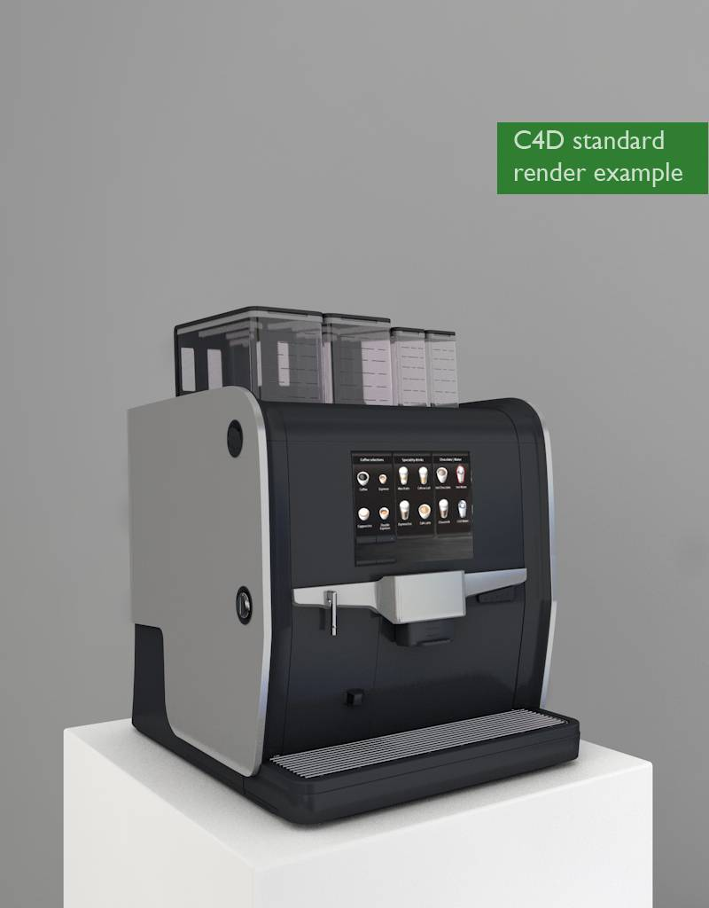 3D model coffee machine Nio